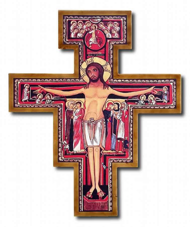 Krzyż franciszkański Wiszący 100 cm