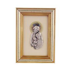 Obrazek płaskorzeźba w ramce Święta Rodzina