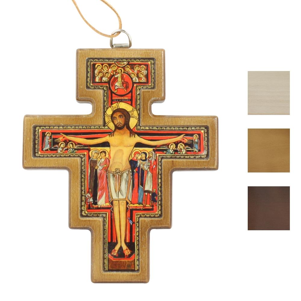 Krzyżyk Franciszkański wiszący 13 cm