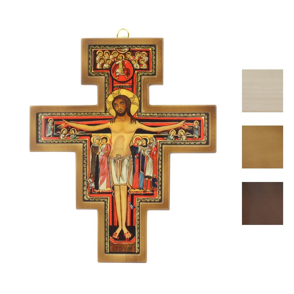 Krzyż franciszkański wiszący 23 cm