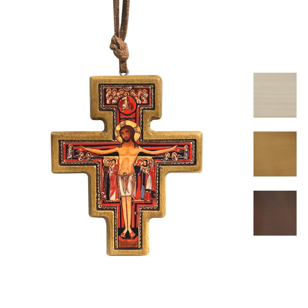 Krzyżyk Franciszkański wiszący 7 cm