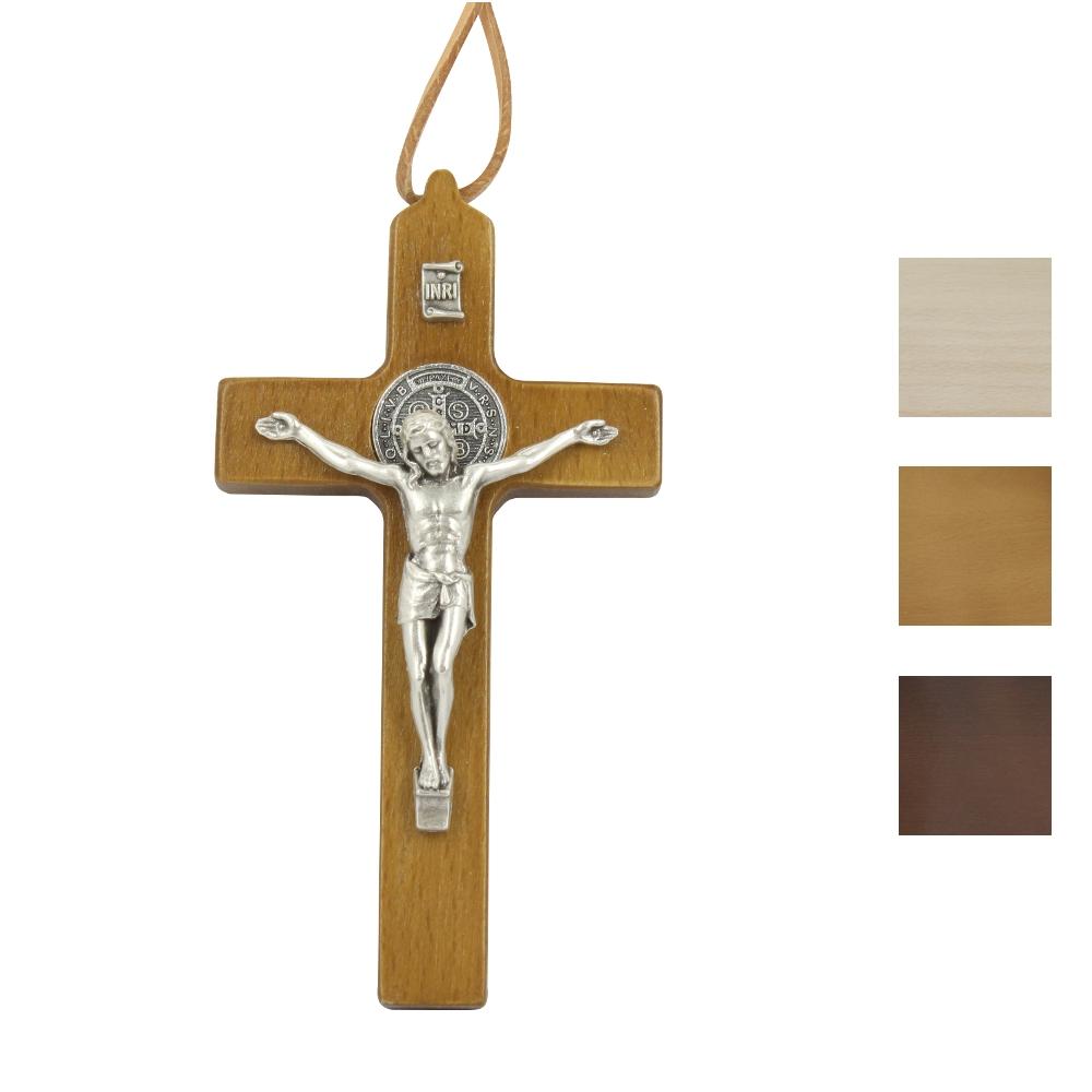 Krzyżyk Benedyktyński wiszący 11 cm