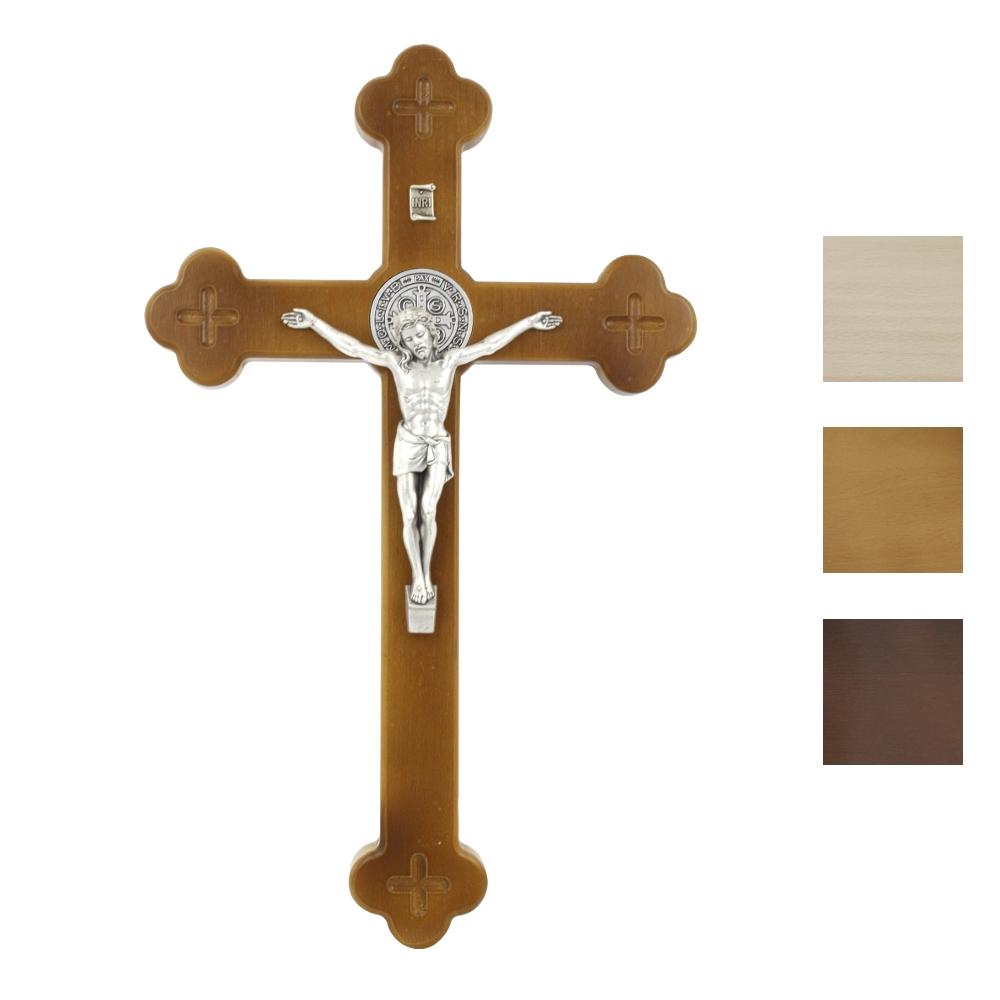 Krzyż Syjonu 40 cm z medalikiem
