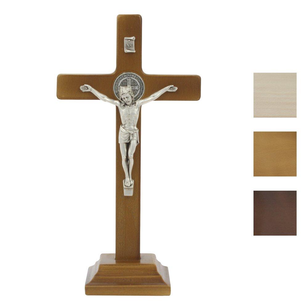 Krzyż benedyktyński stojący 18 cm