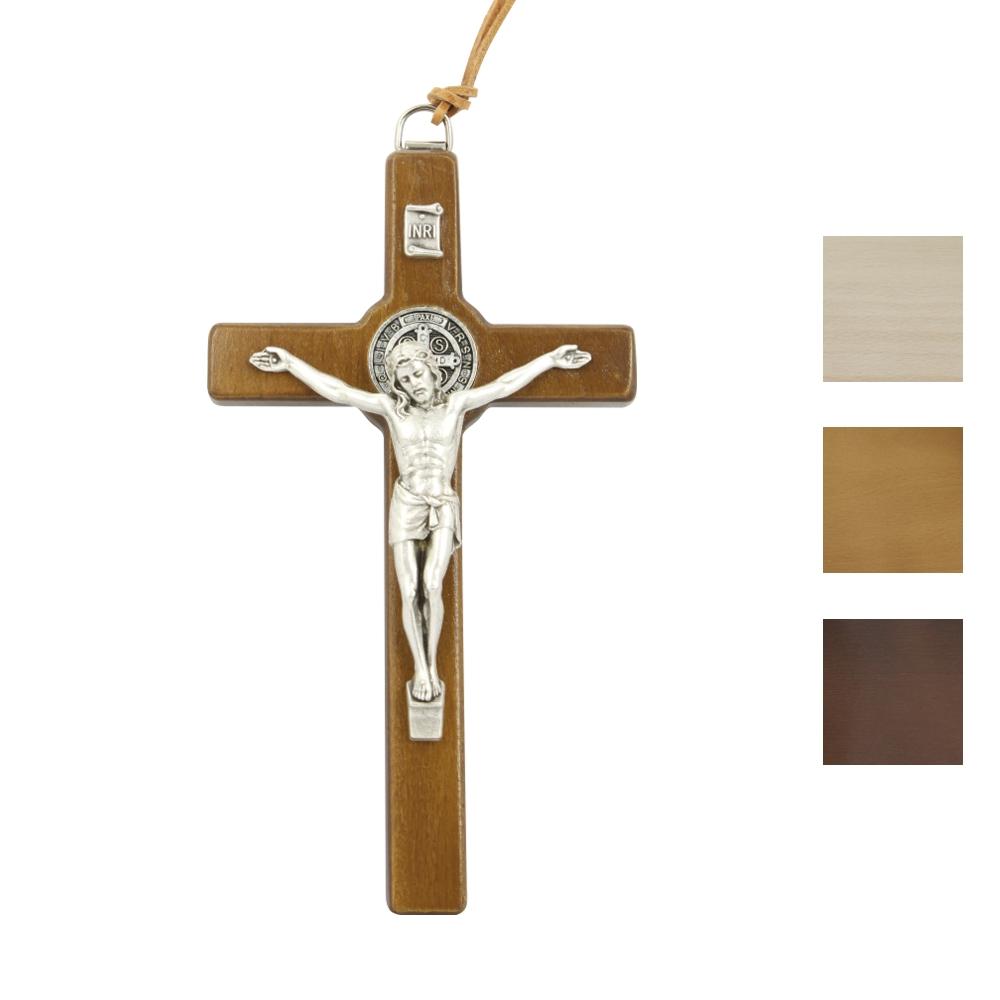 Krzyż Benedyktyński wiszący 15 cm
