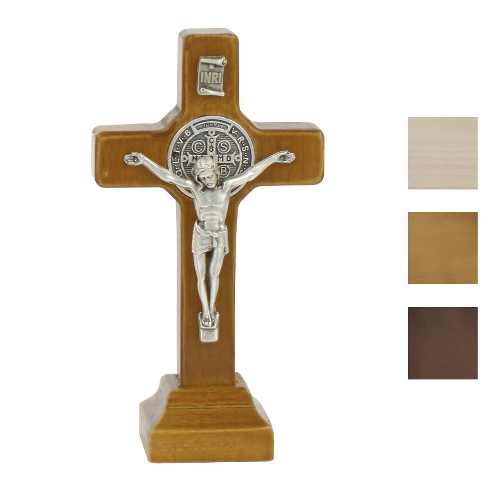 Krzyż benedyktyński stojący 9 cm