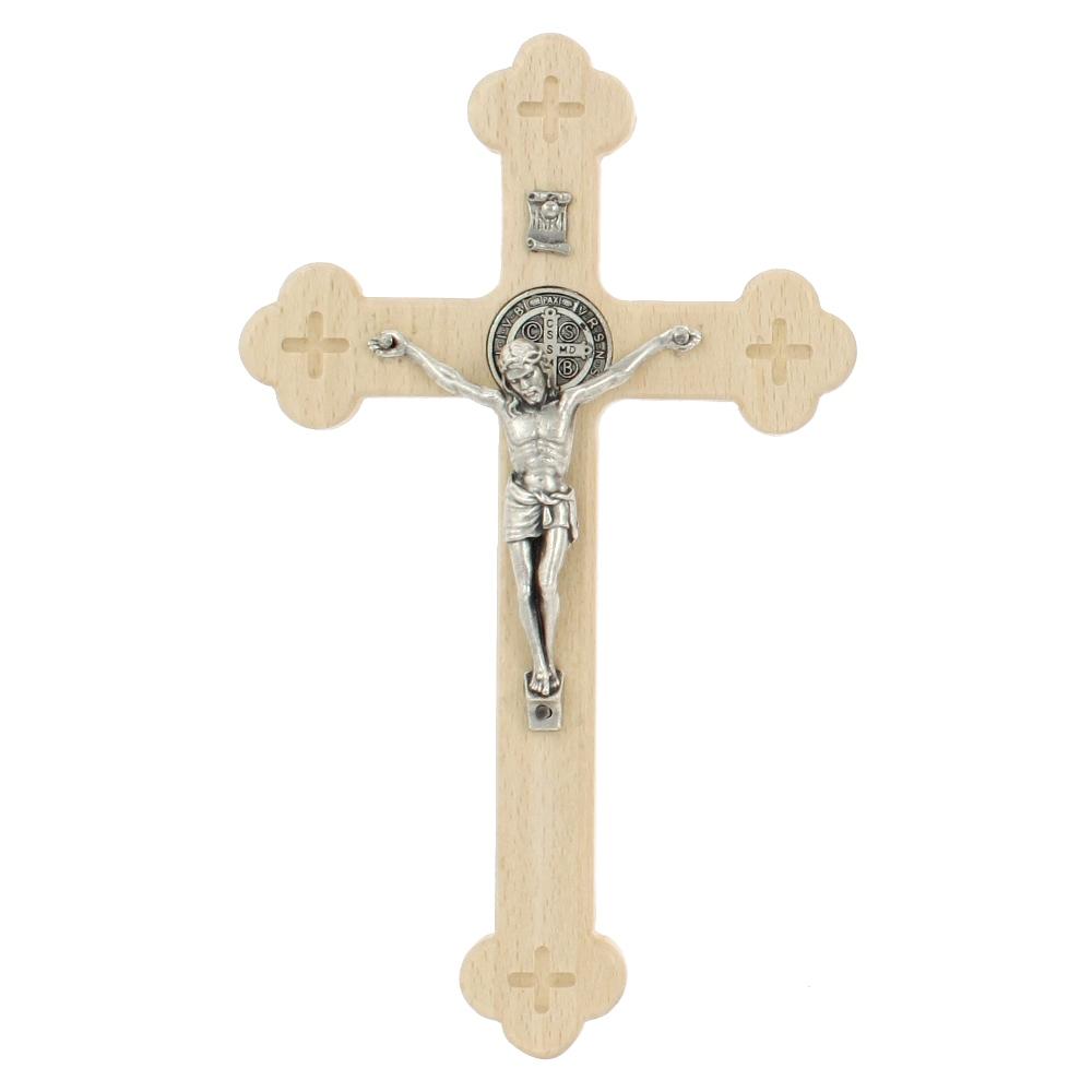 Krzyż Syjonu 18 cm bezbarwny przód
