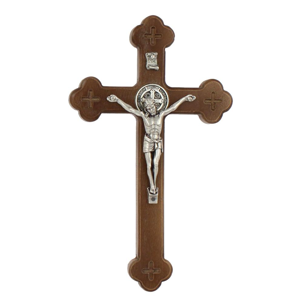 Krzyż Syjonu 18 cm ciemny przód