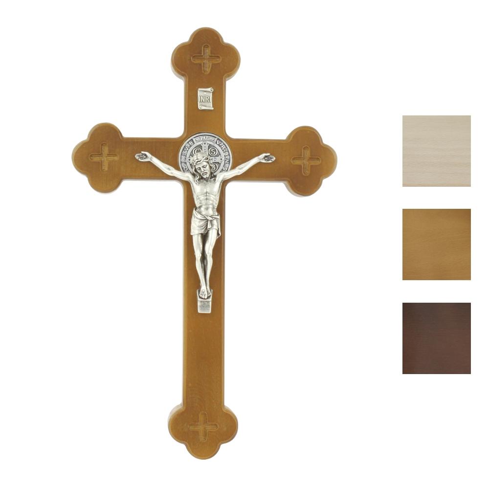 Krzyż Syjonu 25 cm z medalikiem