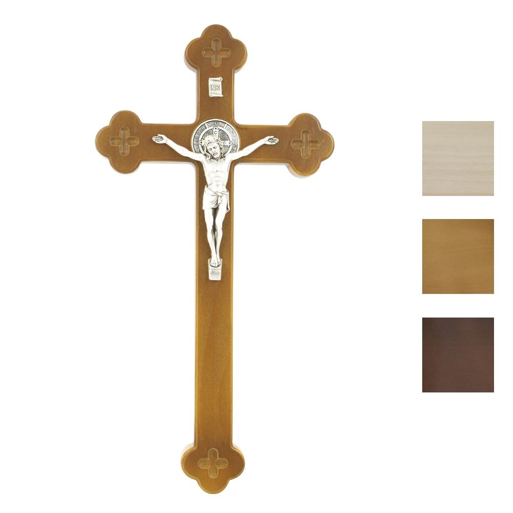 Krzyż Syjonu 30 cm z medalikiem