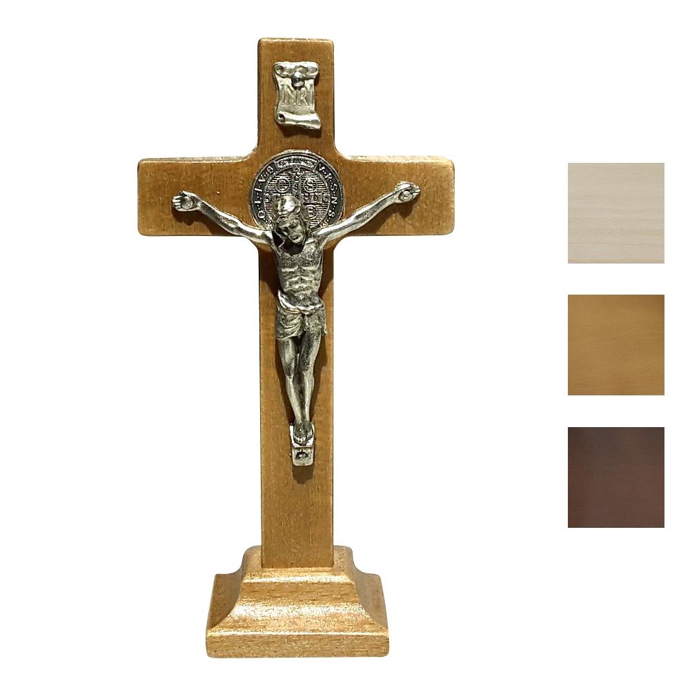 Krzyż benedyktyński stojący 12 cm