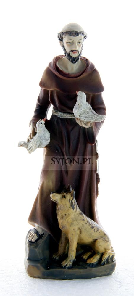 Figurka Św Franciszek 12.5 cm