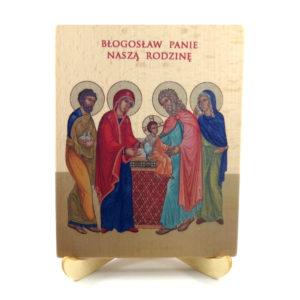 Ikonka – św. Rodzina – błogosławieństwo domu