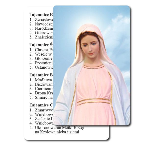 Obrazek Maryi tajemnice różańca