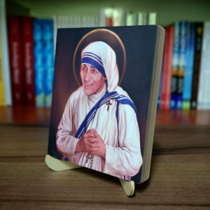 Ikonka – św. Matka Teresa z Kalkuty – ze stojaczkiem