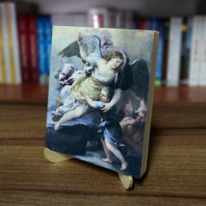 Ikonka – Anioł Stróż – ze stojaczkiem