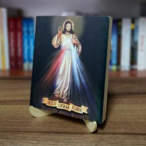 Ikonka – Jezu Ufam Tobie – ze stojaczkiem