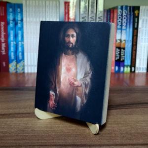 Ikonka – Serce Jezusa – ze stojaczkiem