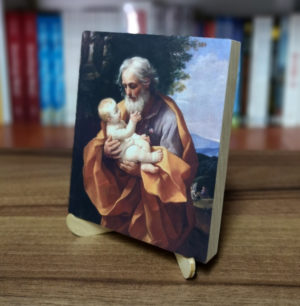 Ikonka – św. Józef – ze stojaczkiem