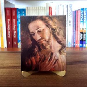 Ikonka – Zdjęcie Jezusa – ze stojaczkiem