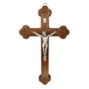 Krzyż Syjonu drewniany 25 cm