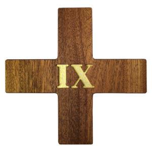 Drewniana Droga Krzyżowa 20×20 cm